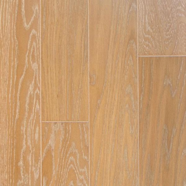 "L&M Flooring, Camden Collection 1/2"" x 5"" x RL Hardwood Flooring White Oak in Boardwalk Beach Color-0"