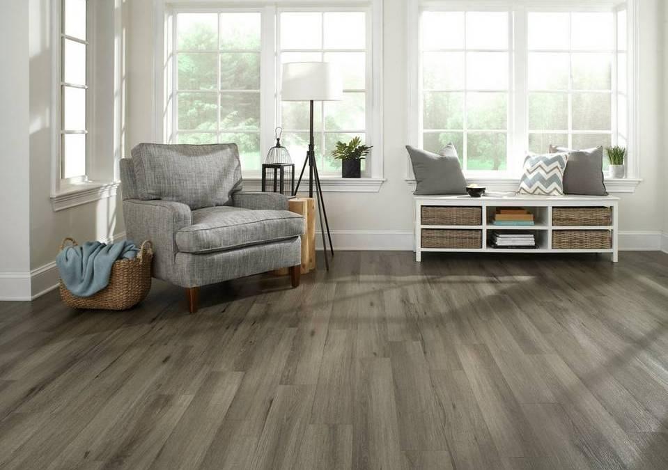 Wood Tile Floor in Calabasas