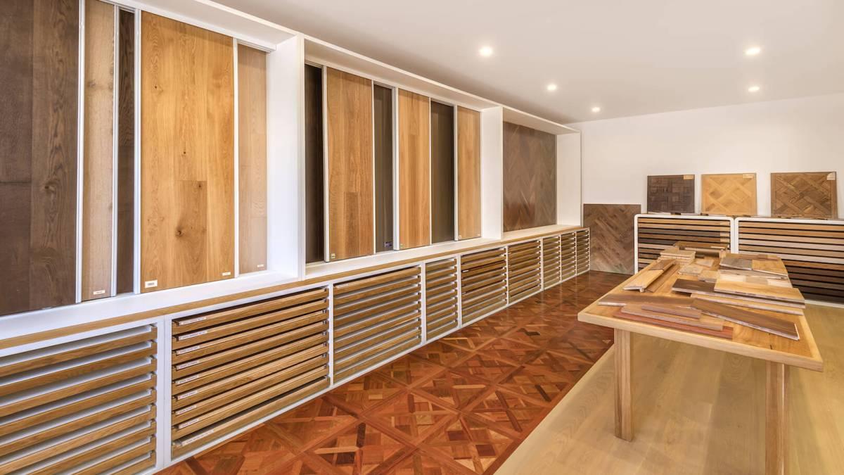 Wood Tile Floor in Valley Glen