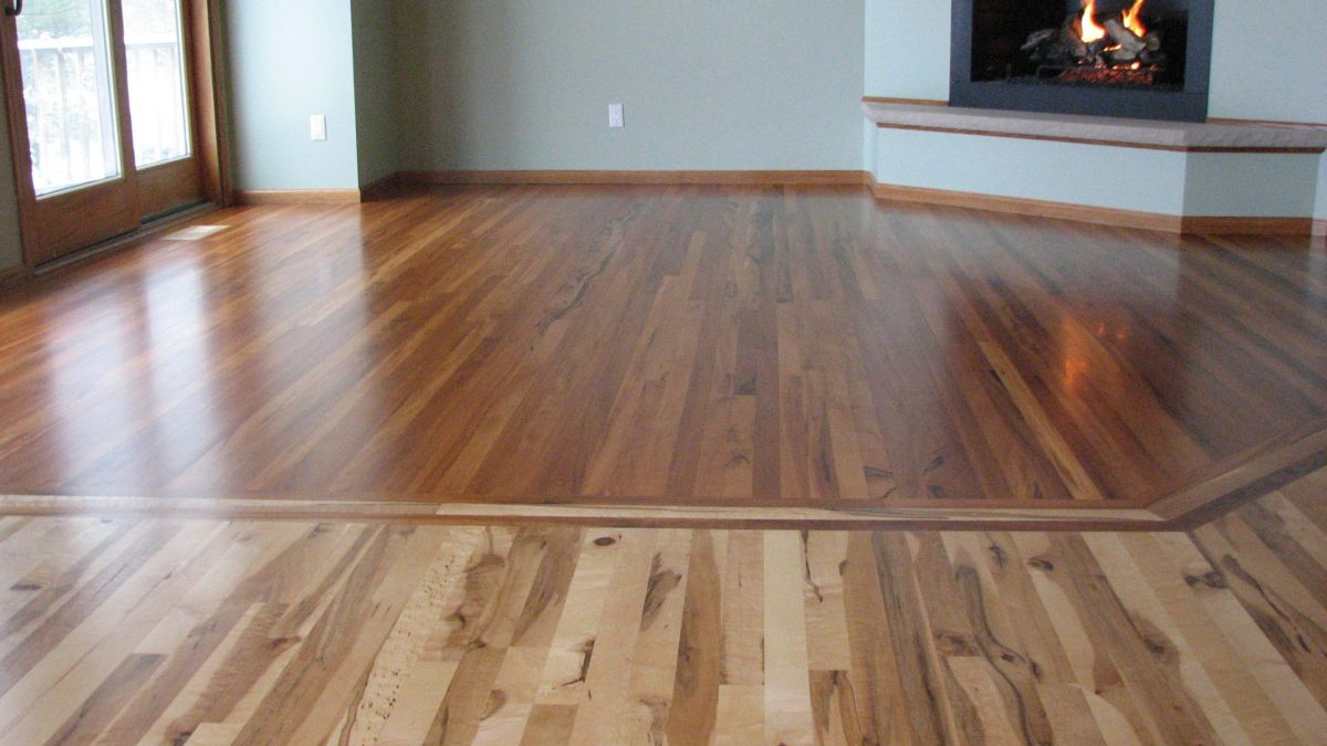 Wood Tile Floor in Studio City