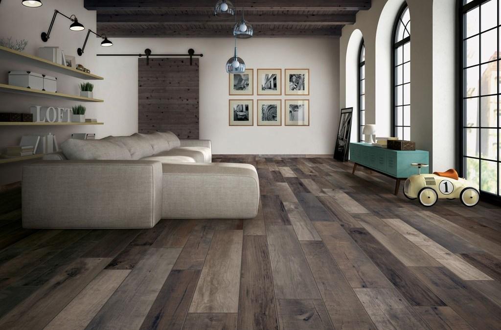 Wood Tile Floor in North Hollywood