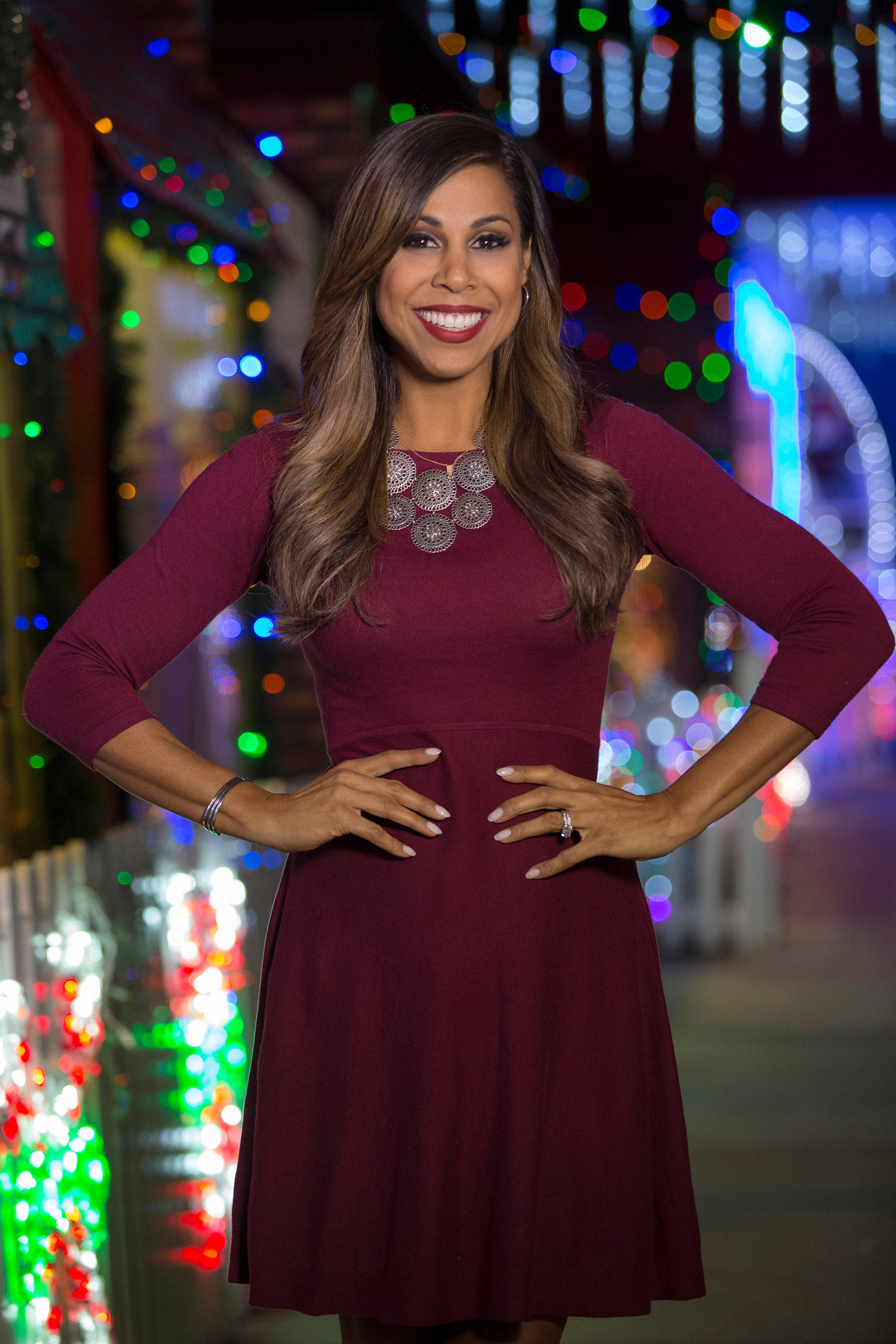 HGTV And ABC Host Taniya Nayak Talks Holiday Lights And Decorations Home Front The