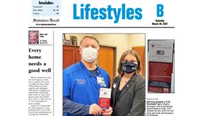 Statesboro Herald Vaccine Pin