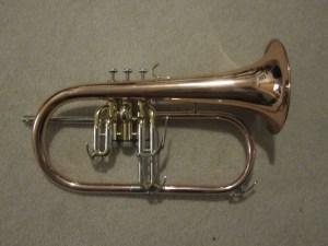 Dillon Flügelhorn in Rose Brass