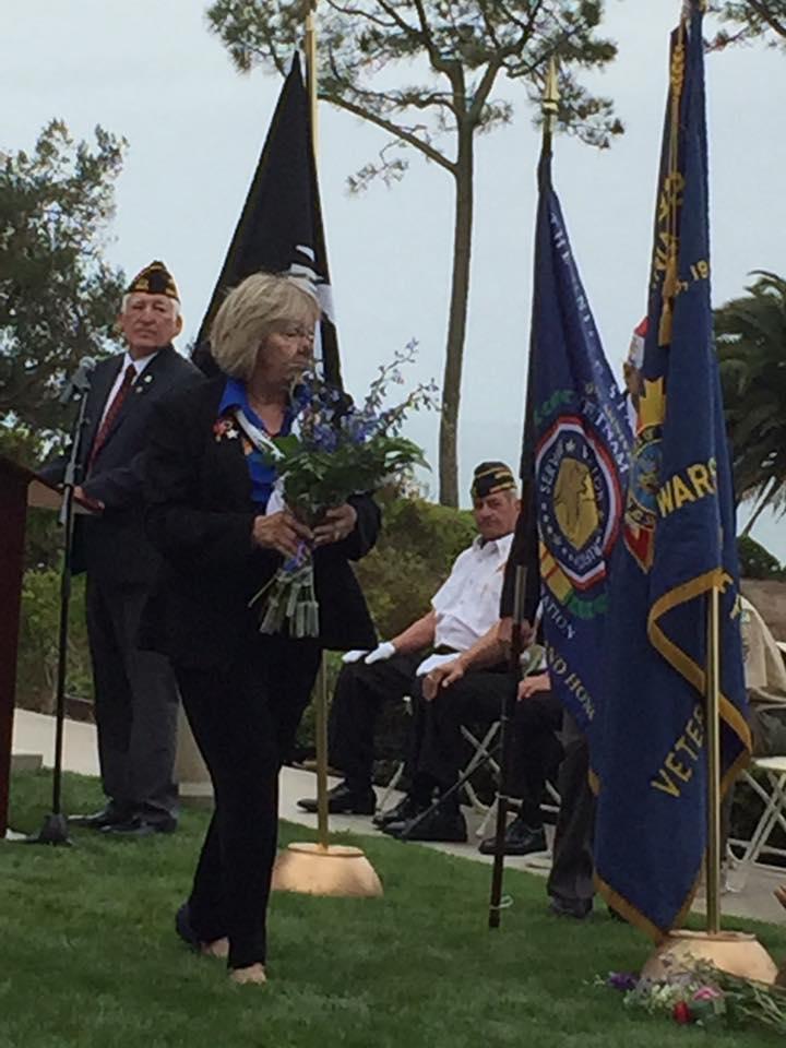 Memorial Day 2016 Sharon Miller President