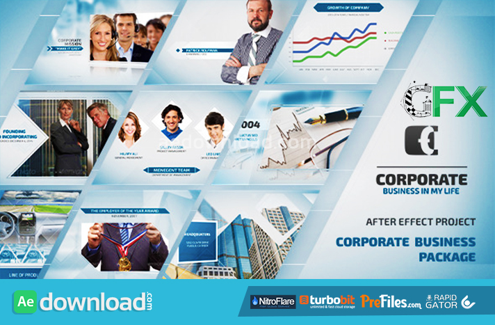 videohive slide for business - free download - free after effects, Powerpoint templates