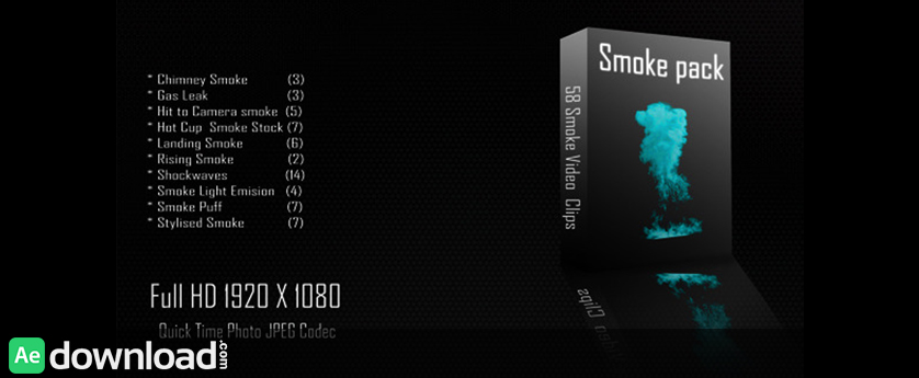 VIDEOHIVE SMOKE COLLECTION 01 FREE DOWNLOAD - Free After