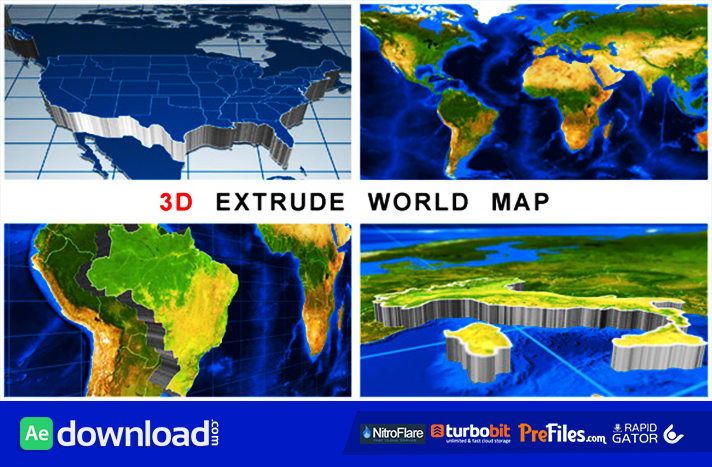 3d extrude world map videohive project free download free 3d extrude world map videohive project free download free after effects template videohive projects gumiabroncs Gallery