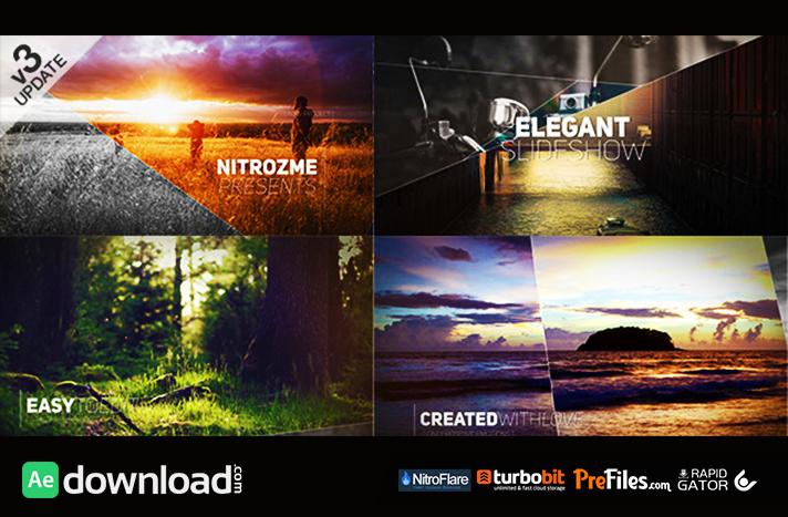Elegant Slideshow Free Download After Effects Templates
