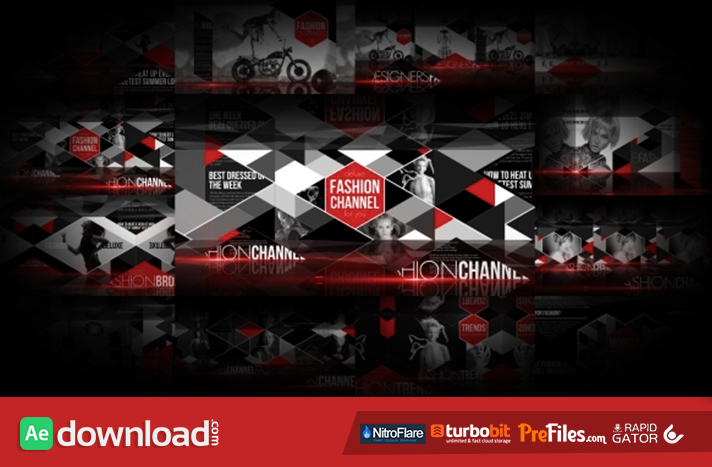 Fashion Broadcast Package Free Download After Effects Templates