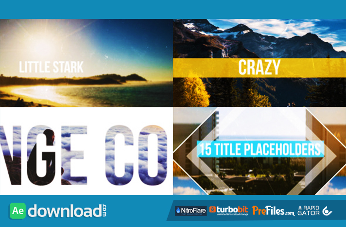 Fast Dynamic Summer Slideshow Free Download After Effects Templates