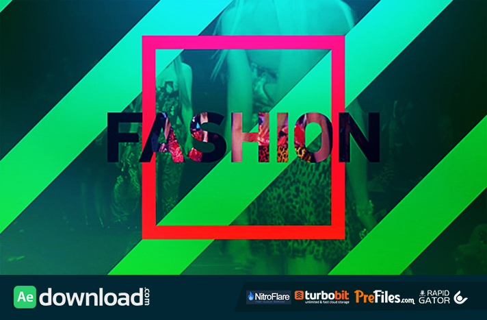 Fast Fashion Opener Free Download After Effects Templates
