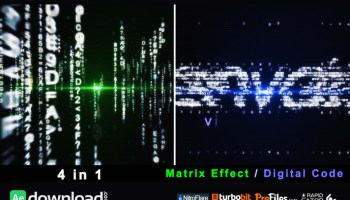 SUPER MATRIX VIDEOHIVE TEMPLATE FREE DOWNLOAD - Free After