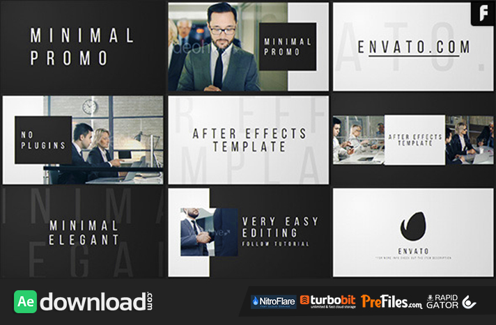 Product Promo Commercials Free Download After Effects Templates