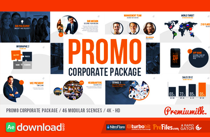 Promo Corporate Package Free Download After Effects Templates
