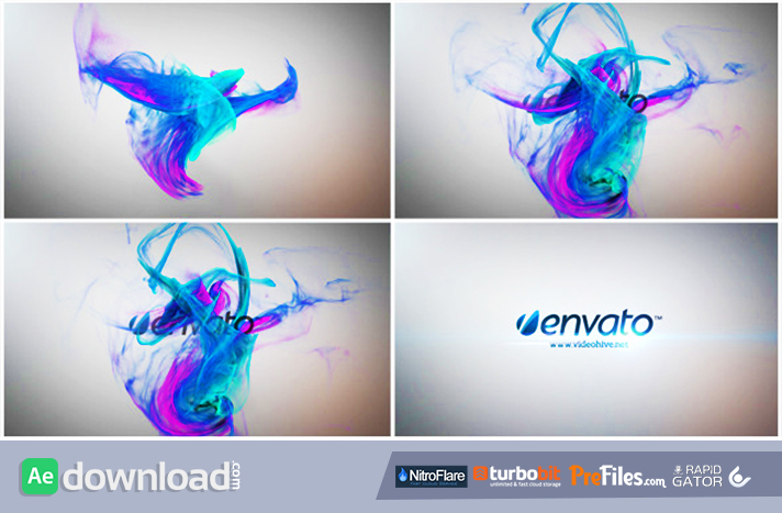 Simple Particle Logo Reveal Free Download After Effects Templates