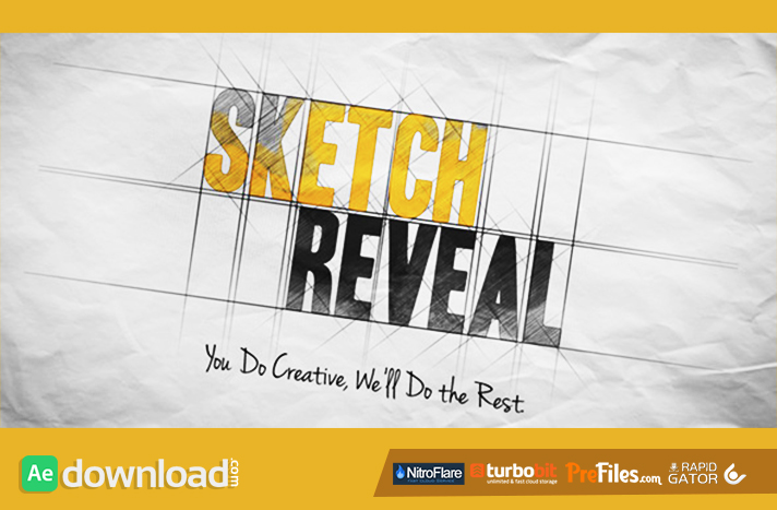 Sketch Reveal Free Download After Effects Templates