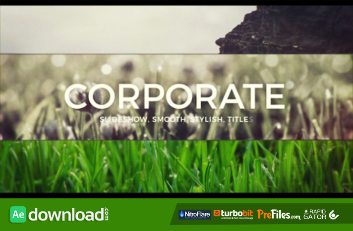 Slide for Business Free Download After Effects Templates