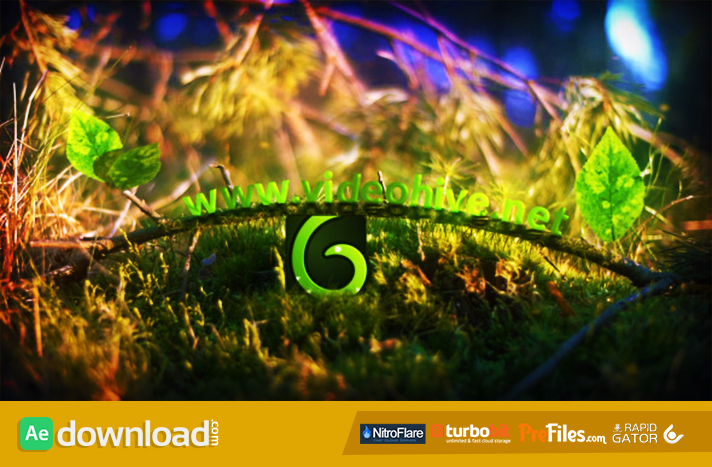 Spring Leaves Logo Free Download After Effects Templates
