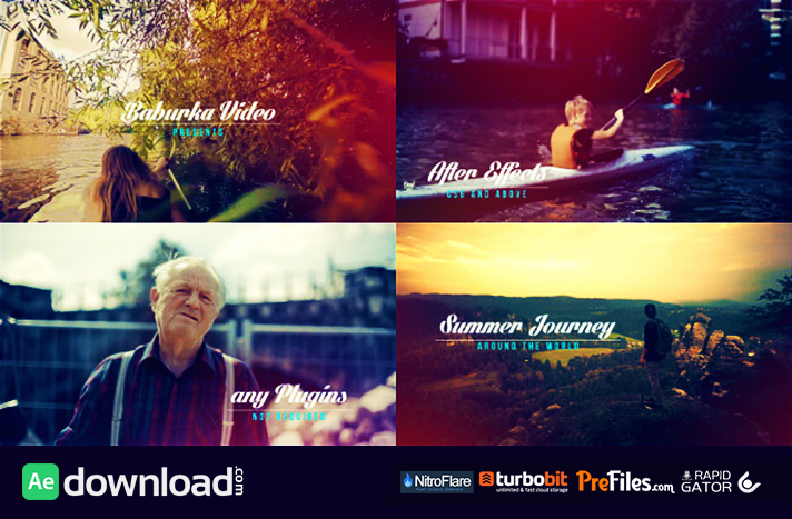 Summer Journey Free Download After Effects Templates