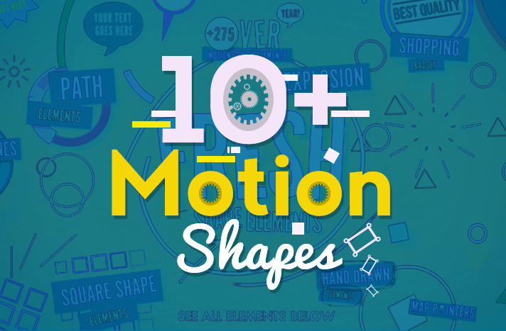 10+ Motion Shapes Free After Effects Templates - Free After