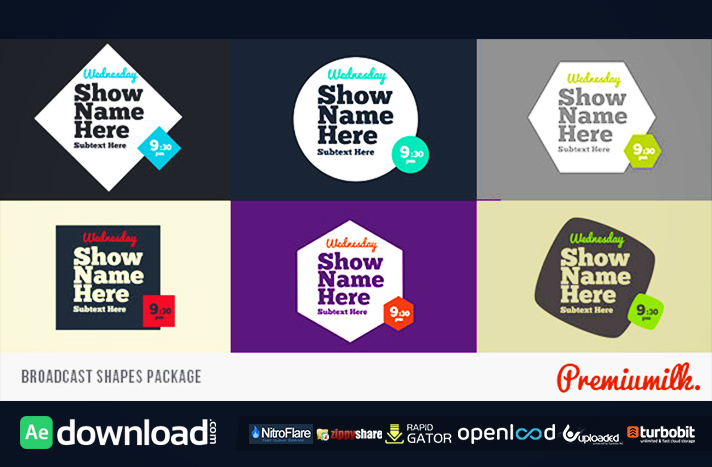 videohive flat app promo - free after effects templates - free, Powerpoint templates