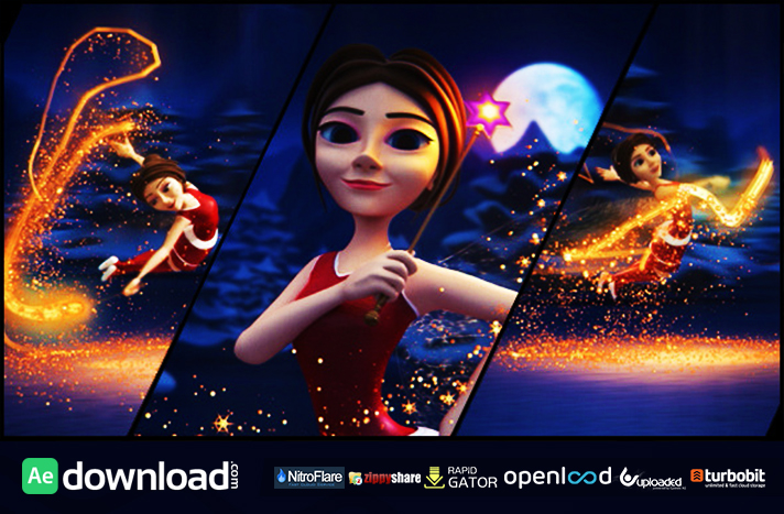 CHRISTMAS FAIRY VIDEOHIVE TEMPLATE FREE DOWNLOAD