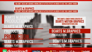 NEW ELEGANT THIRDS (VIDEOHIVE) - FREE DOWNLOAD - Free After