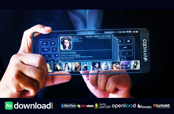 FUTURE TOUCH PAD - AFTER EFFECTS PROJECT (VIDEOHIVE)