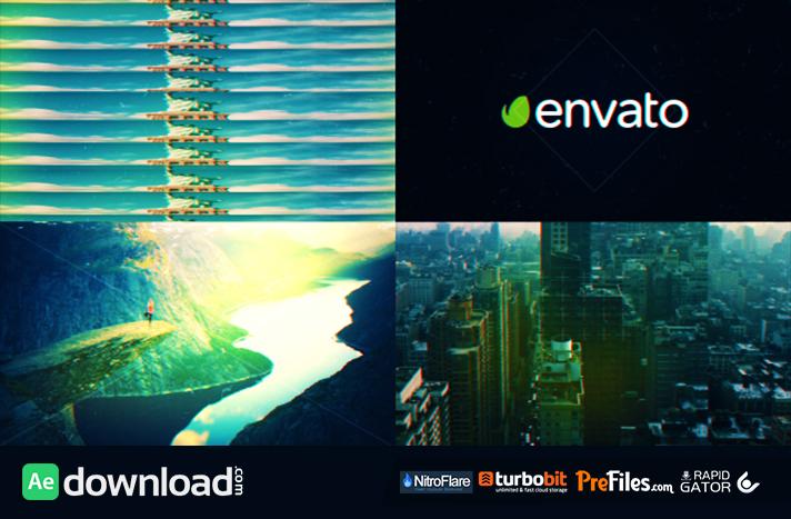 Fast Glitch Slideshow Opener