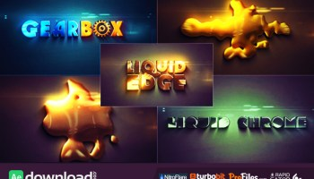 VIDEOHIVE LIQUID ELEMENTS - AFTER EFFECTS PRESETS - Free