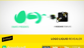 VIDEOHIVE LIQUID CORPORATE LOGO - Free After Effects Template