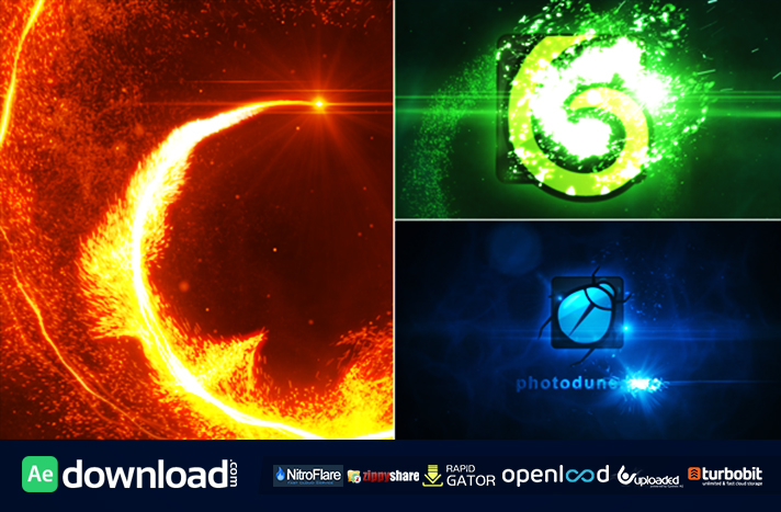 Particle Vortex Logo Reveal free download - Free After