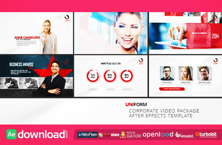videohive corporate business package free download - free after, Powerpoint templates