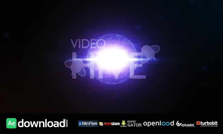 Atomic Fire Light Logo