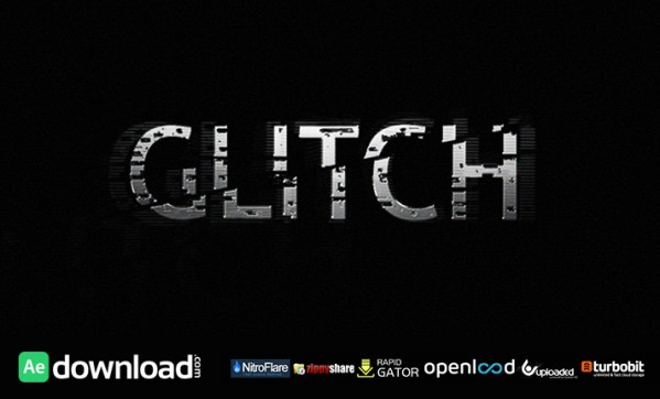 GLITCH MOTION GRAPHIC - AFTER EFFECTS PROIECT (VIDEOHIVE ...