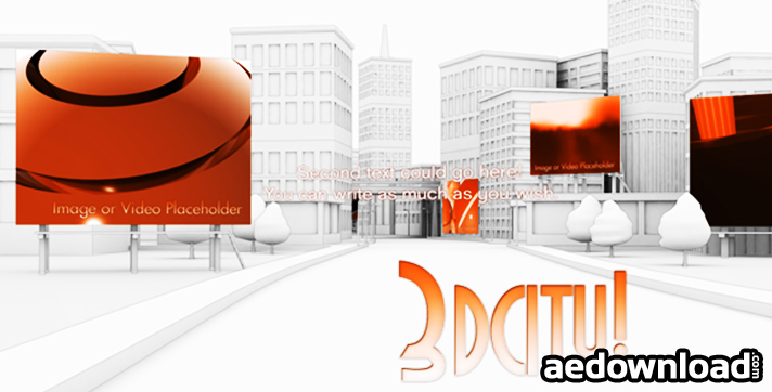 3d City animation - Fly Through Showcase