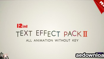 VIDEOHIVE TEXT PRESET PACK FOR ANIMATION COMPOSER V2 (WITH LICENSE