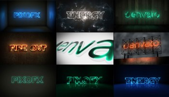 VIDEOHIVE NEON 18839549 AFTER EFFECTS TEMPLATE - Free After Effects