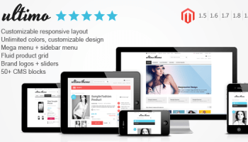 Ultimo V1 15 3 Fluid Responsive Magento Theme Free Download Free