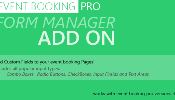 Event Booking Pro v3 615 – WP Plugin [paypal or offline