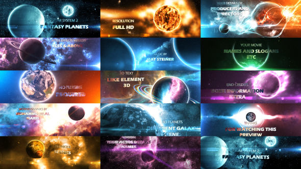solar system after effects - photo #13