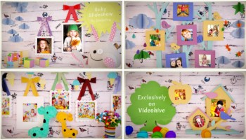 BABY GALLERY - AFTER EFFECTS PROJECT (VIDEOHIVE) - Free