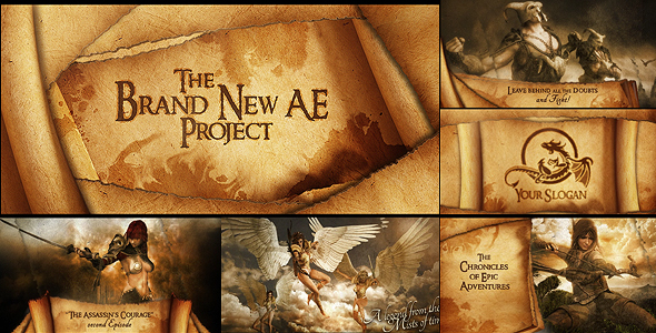 Epic Old Book Videohive - After Effects Template