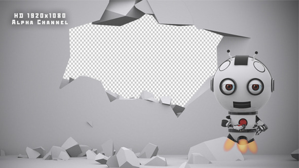 VIDEOHIVE ROBOT SS2 - WALL DESTRUCTION - MOTION GRAPHIC ...