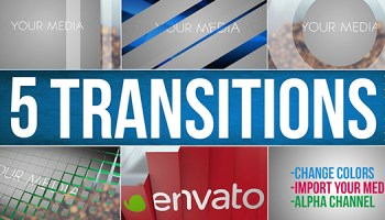 VIDEOHIVE TRANSITIONS 22114911 - Free After Effects Template