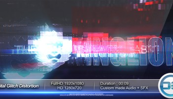 VIDEOHIVE DIGITAL LOGO - Free After Effects Template - Videohive