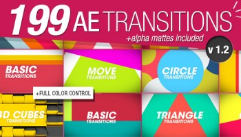 VIDEOHIVE HANDY SEAMLESS TRANSITIONS | PACK & SCRIPT V5 1