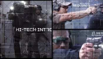VIDEOHIVE HI-TECH INTRO - Free After Effects Template