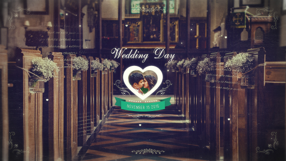 VIDEOHIVE WEDDING PARALLAX SLIDESHOW